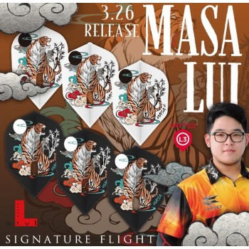 L Flight Masa White L3