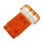 Cosmo CaseX Clear Orange
